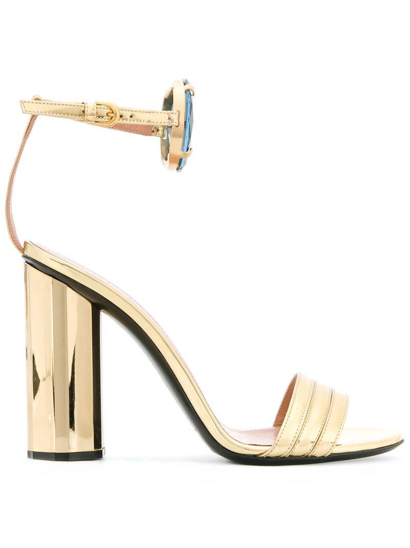 jewel strap sandals - Metallic Marco De Vincenzo odEUCn
