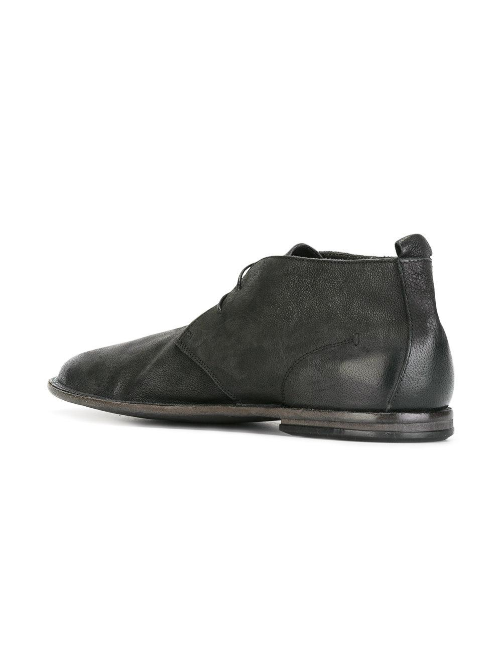 Lyst Pantanetti Classic Desert Boots In Black For Men