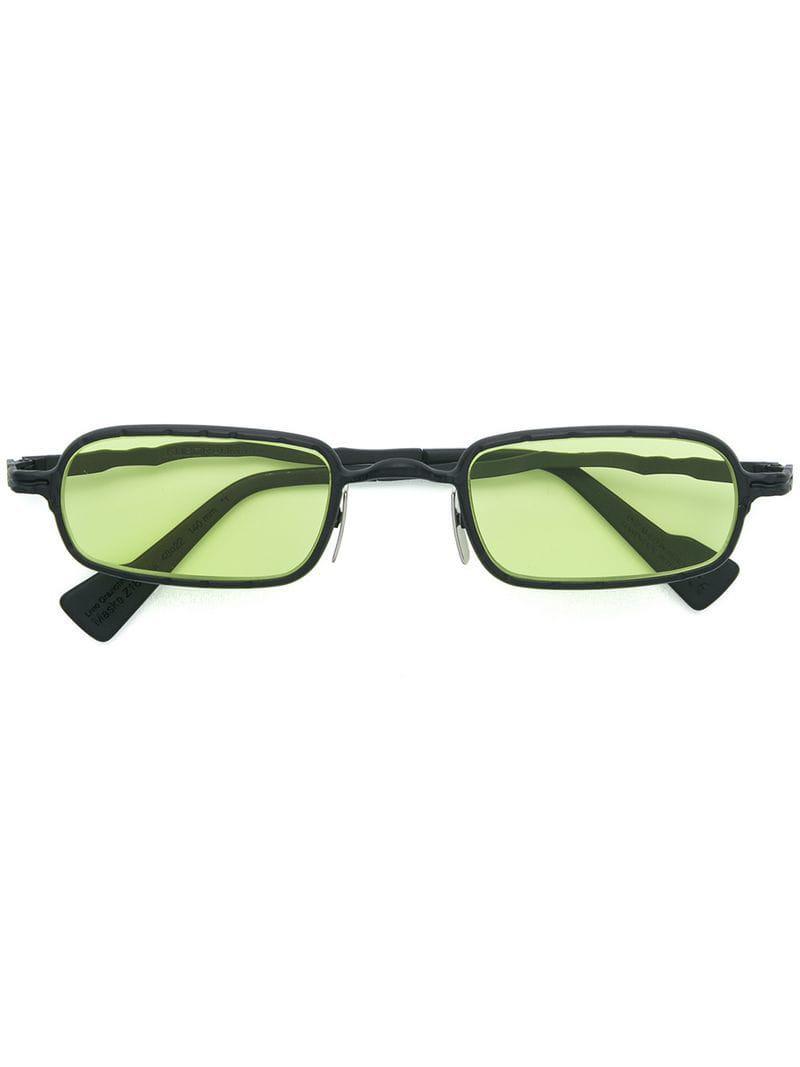f6db0d2fb10 Kuboraum Square Tinted Sunglasses in Black for Men - Lyst