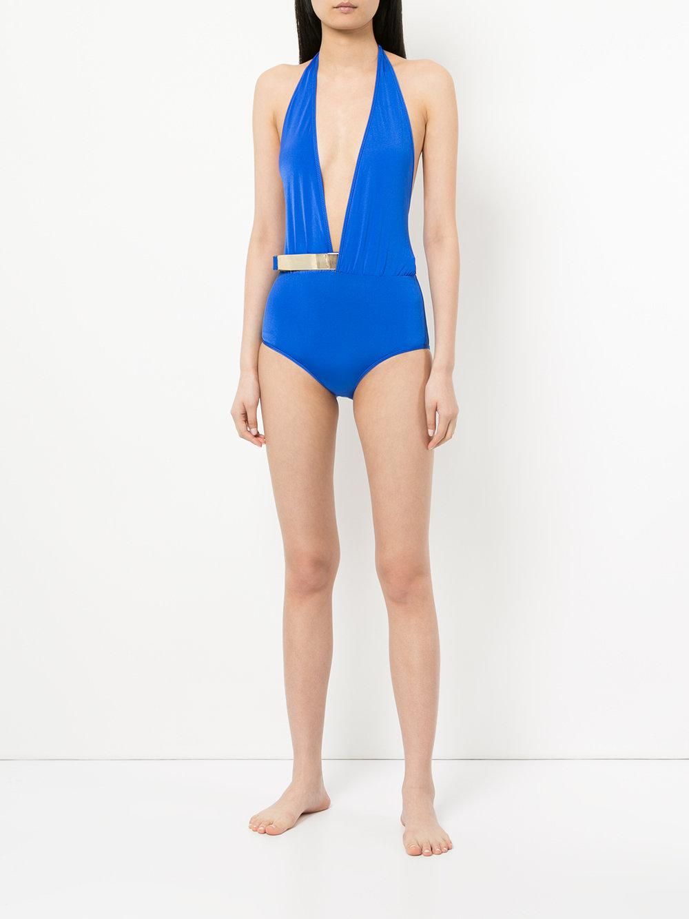 5d3a1b06decfb Moeva Bridget Swimsuit in Blue - Lyst