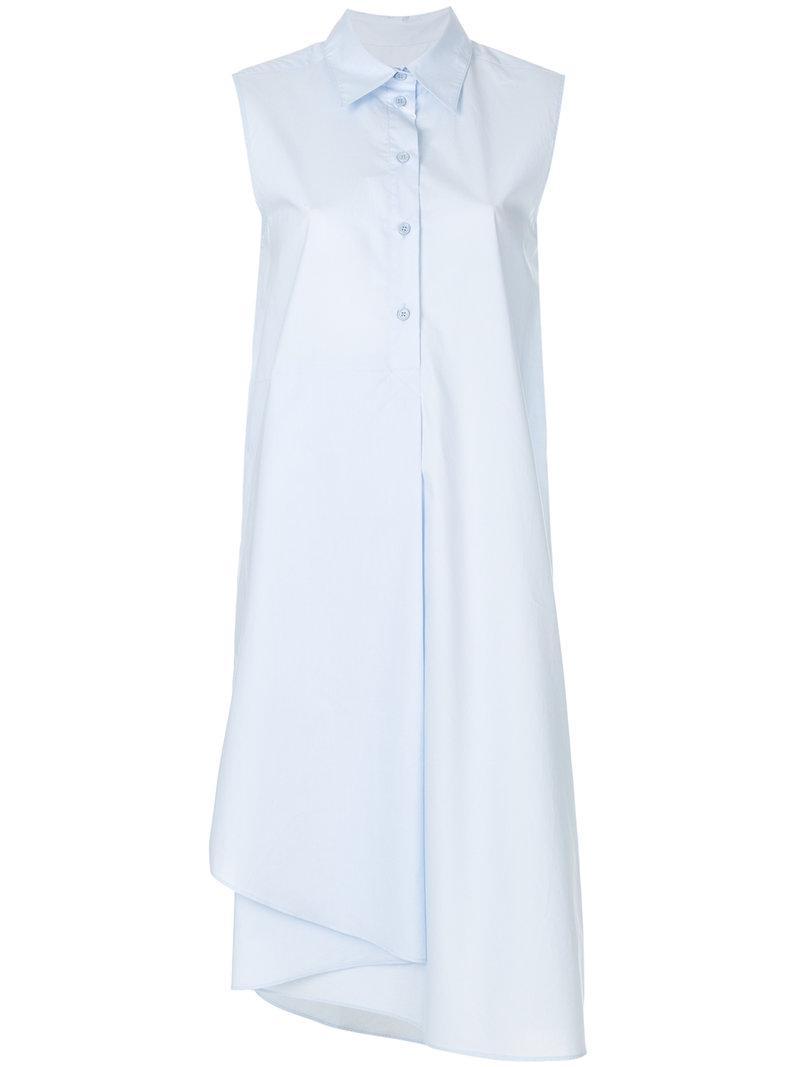 mid-length shirt dress - Blue Maison Martin Margiela MdGjn