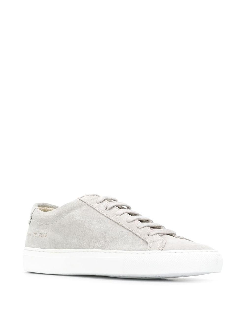 Zapatillas Original Achilles Common Projects de Ante de color Gris