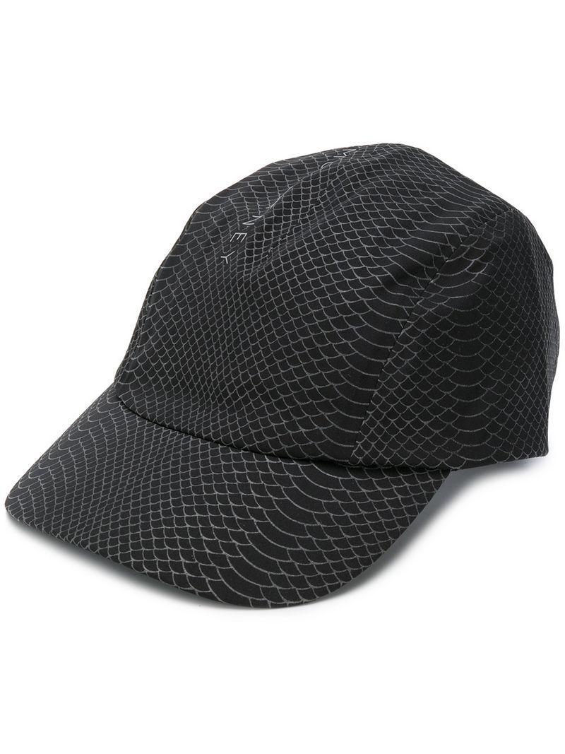 Lyst Adidas Von Stella Mccartney Run Cap in Schwarz
