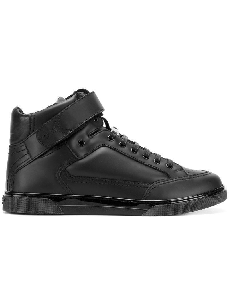 lyst saint laurent sneakers 39 joe scratch 39 in black for men. Black Bedroom Furniture Sets. Home Design Ideas