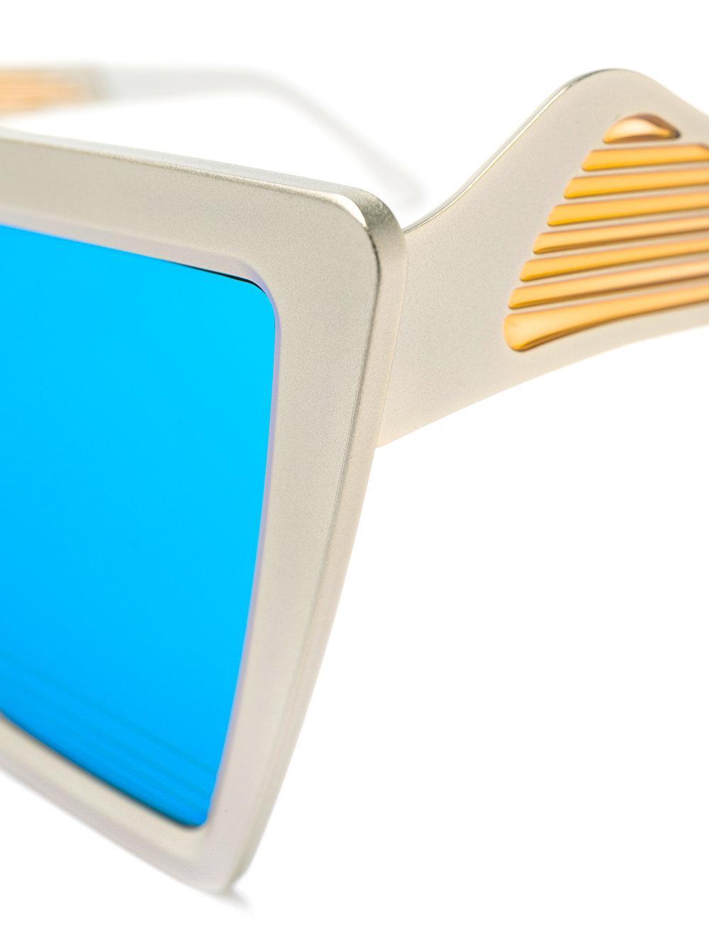 Irresistor Fluxus Sunglasses in Metallic