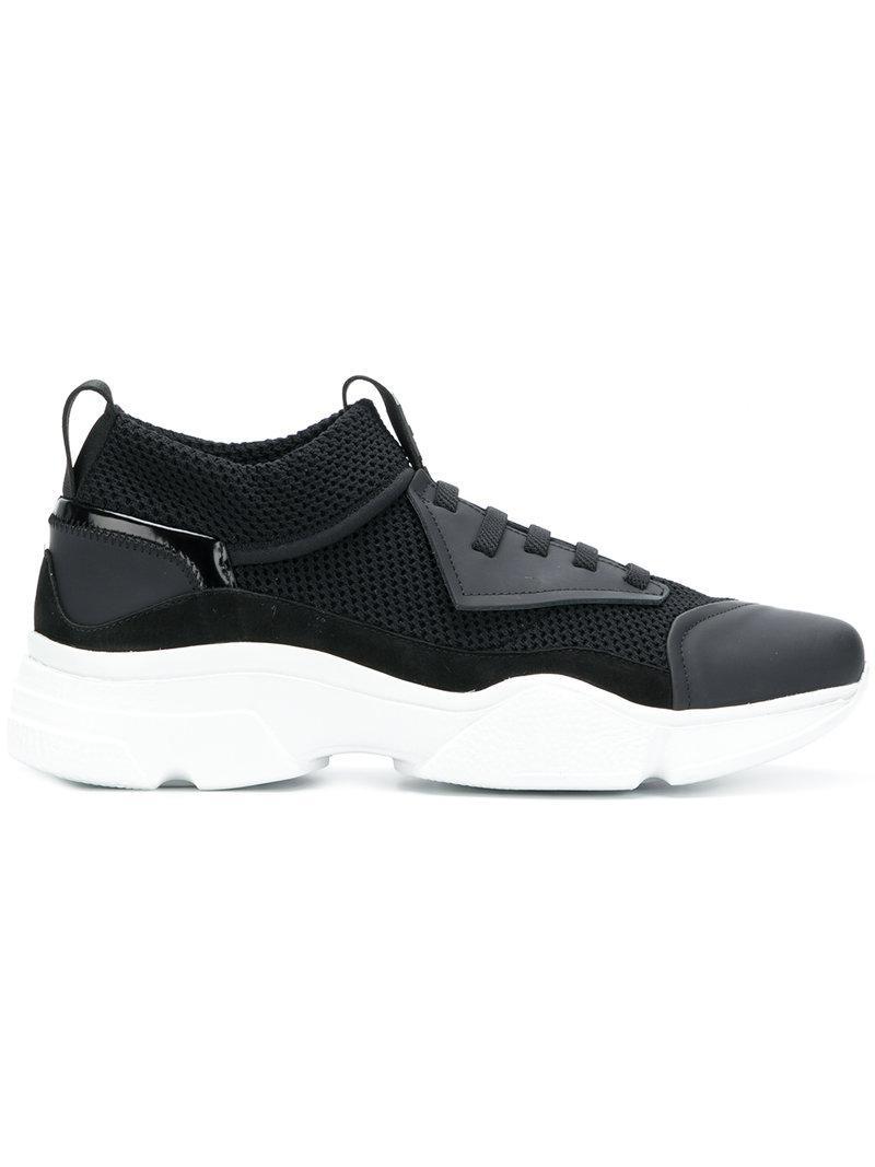 BRUNO BORDESE Mesh low top sneakers sfx51PE