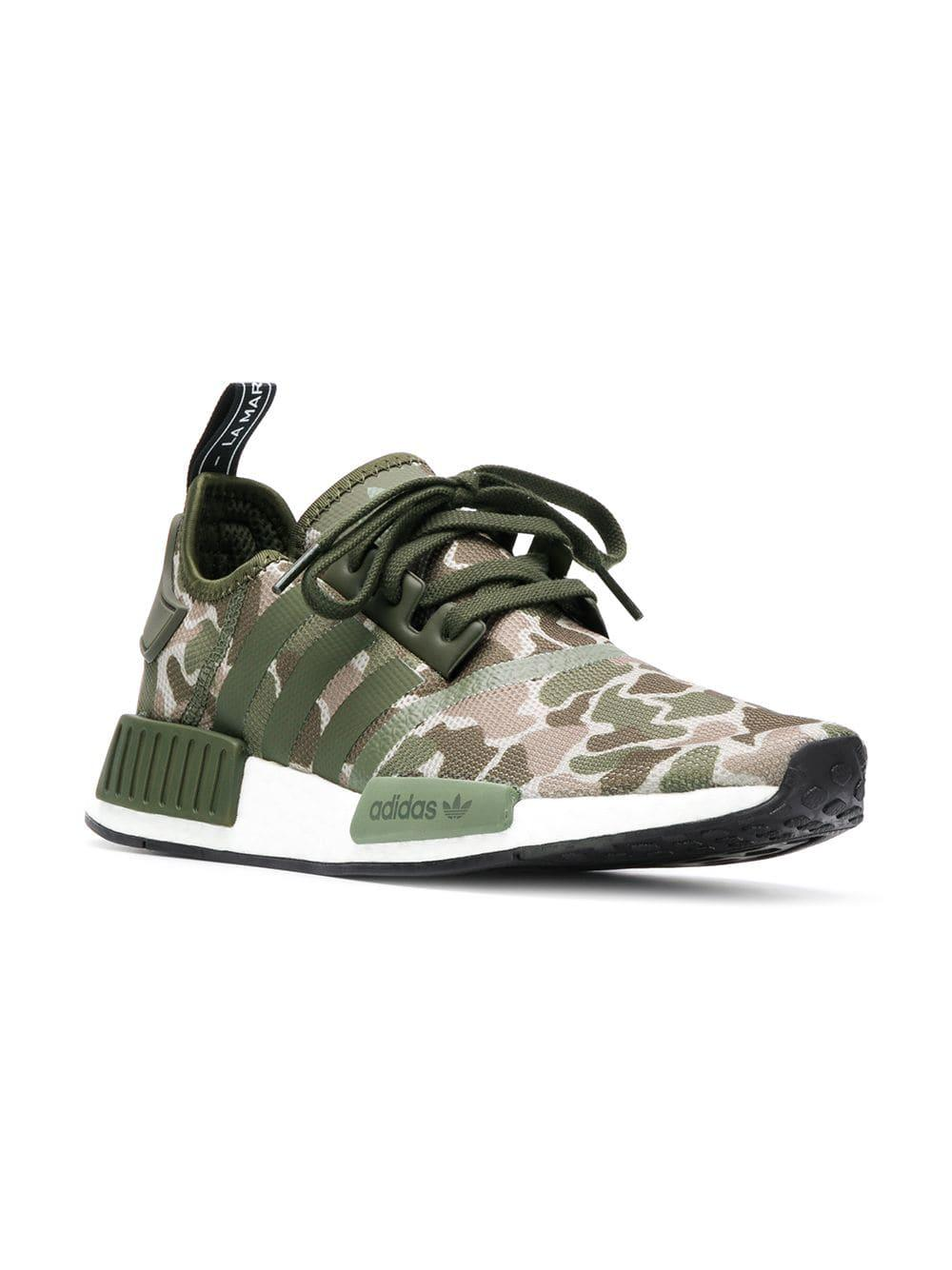 Lyst - adidas Originals Nmd R1 Boost in Green for Men 571a50826