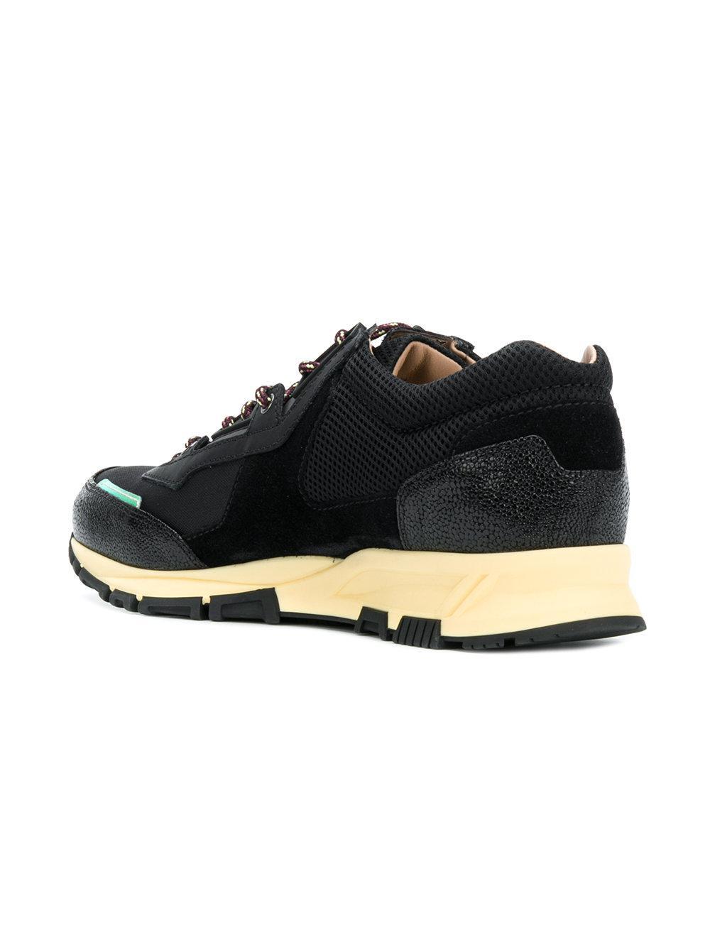 contrasting panel sneakers - Black Lanvin B7BDoD8Y
