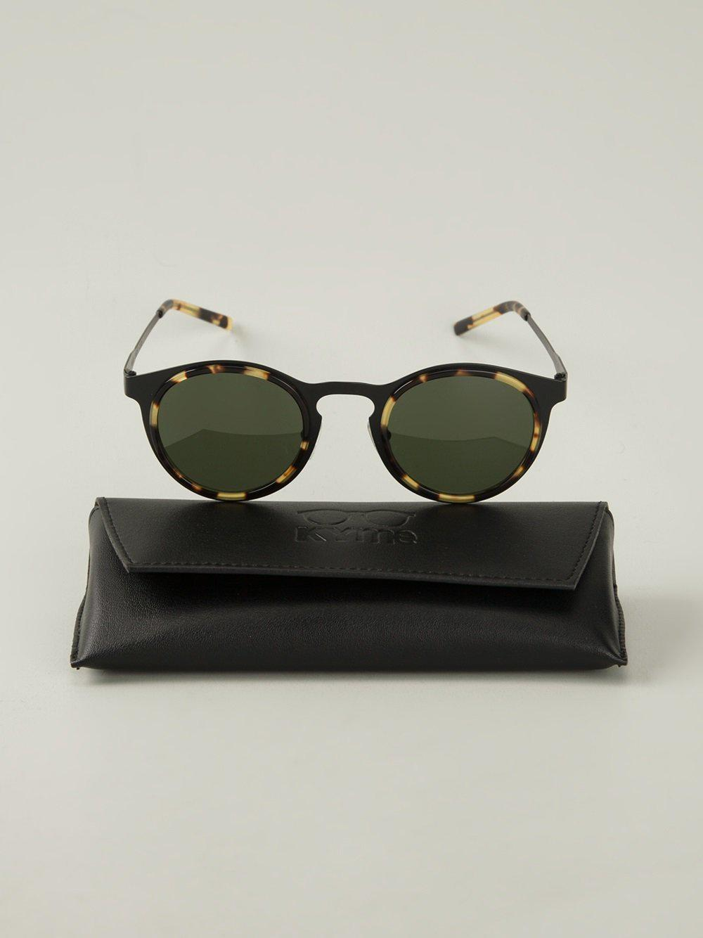Kyme Miki Sunglasses in Black