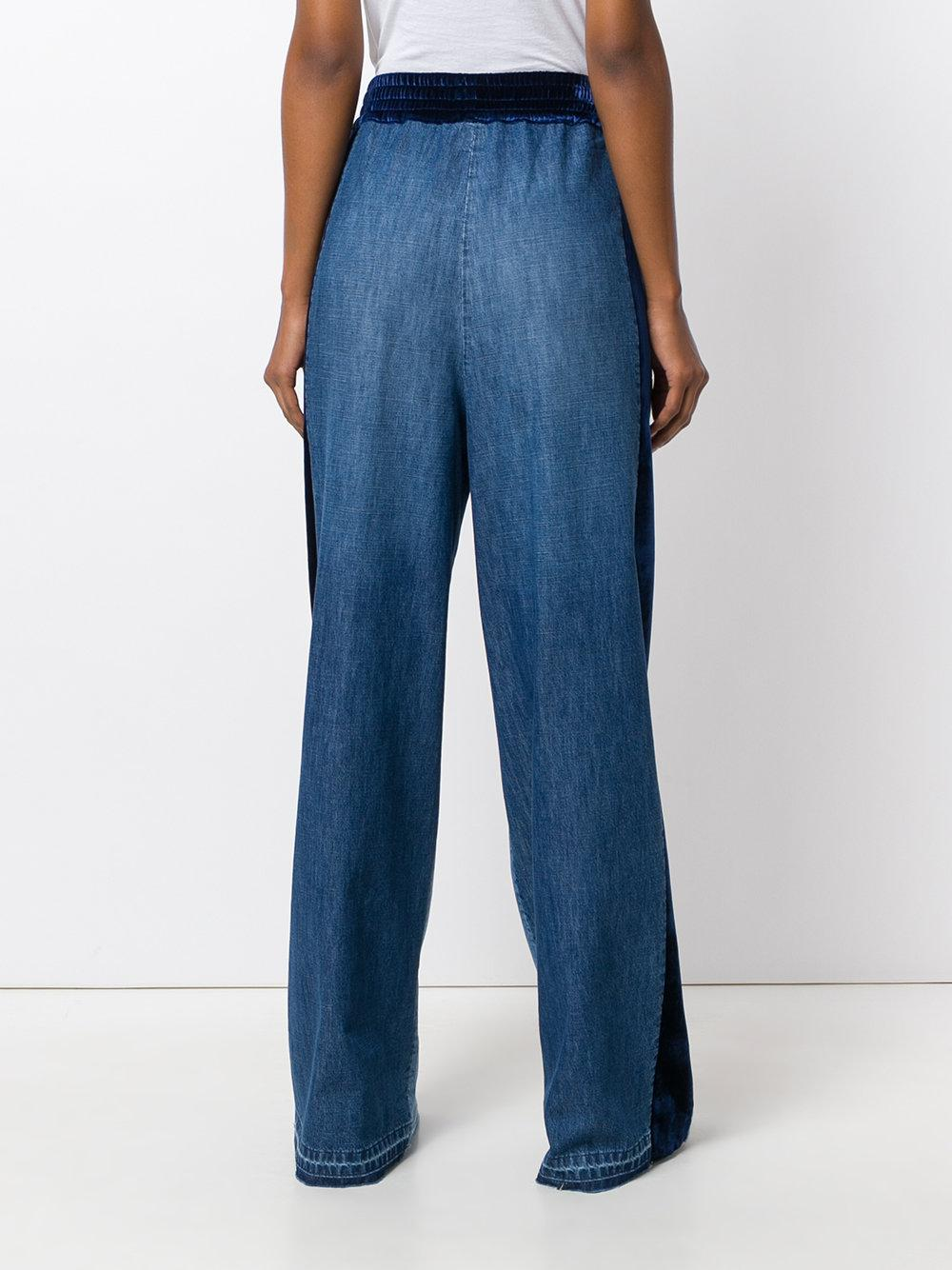 Golden Goose Deluxe Brand Denim Sophie Jeans in Blue