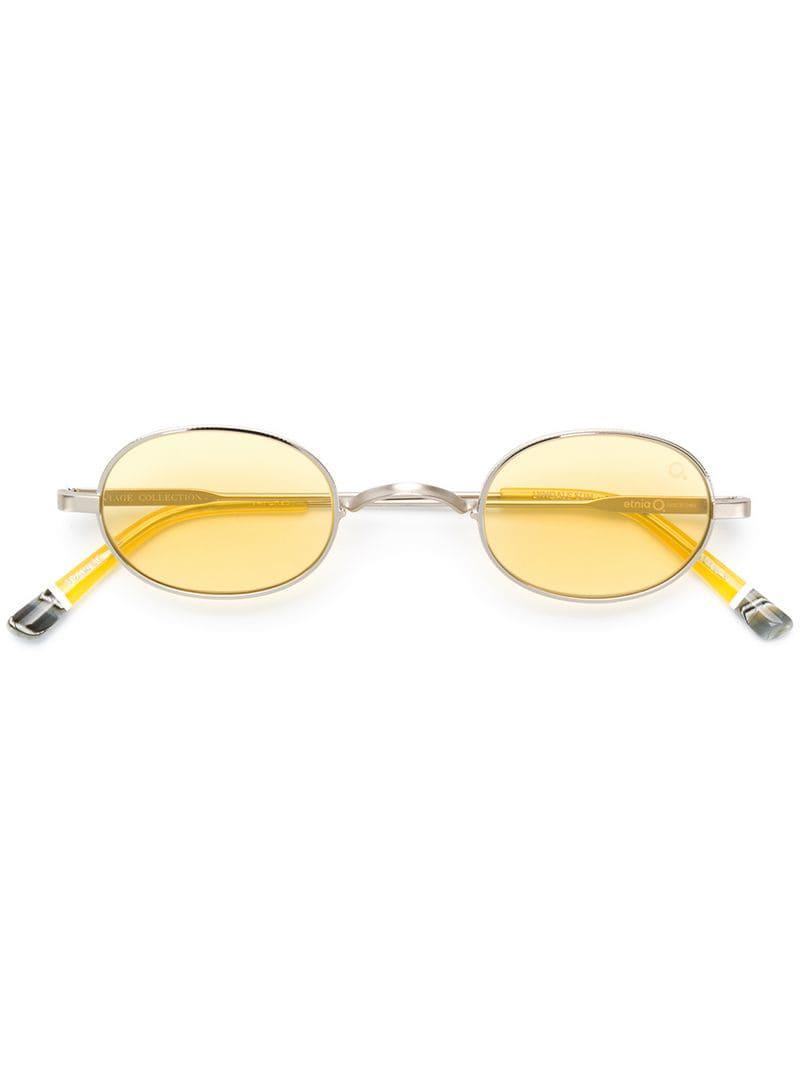 Con Sol De Color Mujer Amarillo Gafas Montura Lyndale Oval 6Ybyf7gv