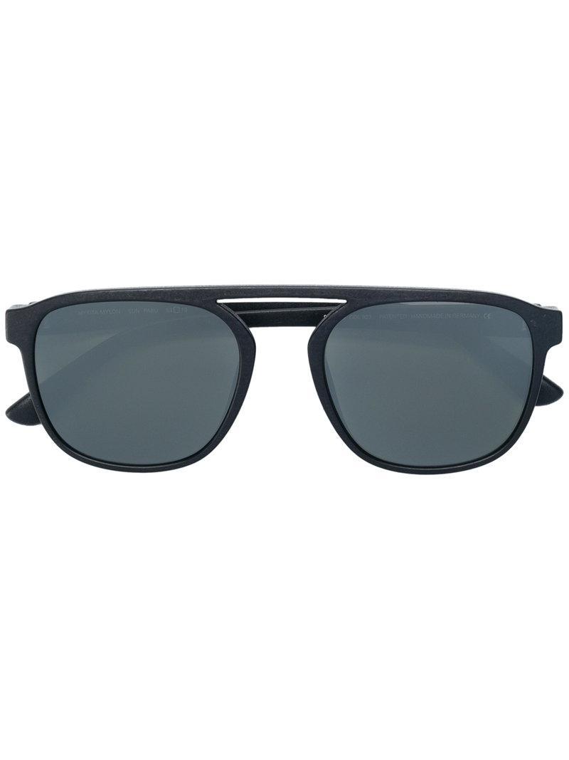 79598304a82 Mykita Aviator Shaped Sunglasses in Black - Lyst