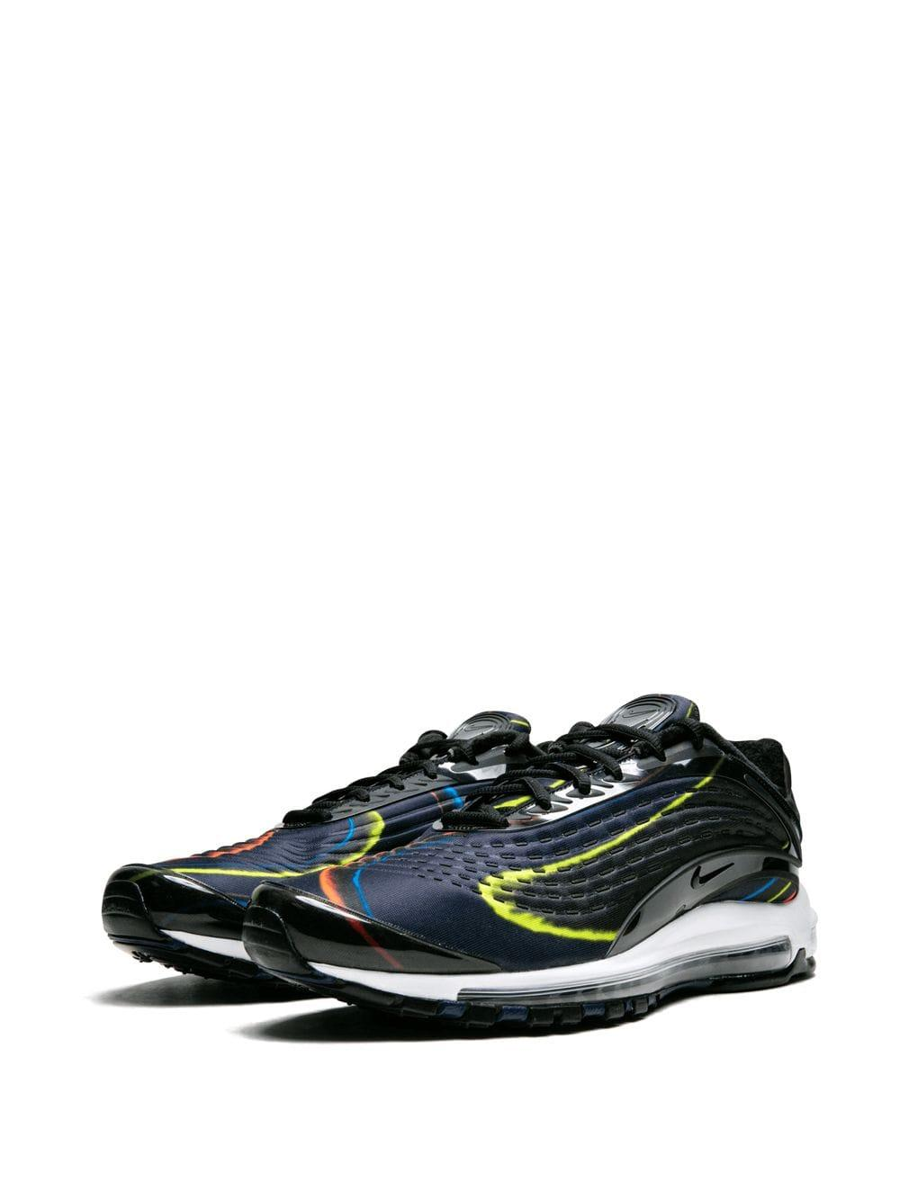 655295f48a Nike Air Max Deluxe Sneakers in Black for Men - Lyst