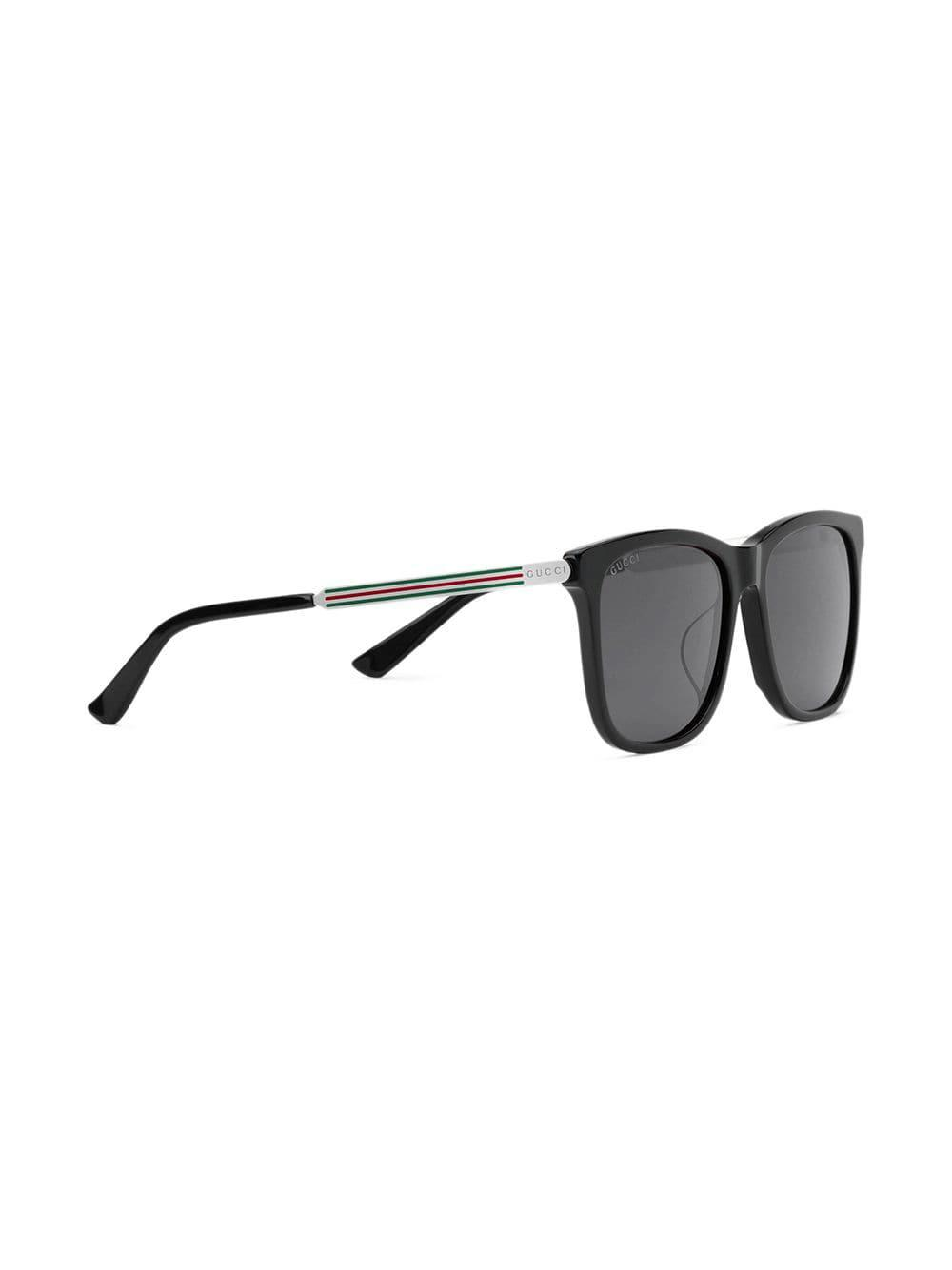 d3edf8bd097 Lyst - Gucci Square-frame Acetate Sunglasses in Black for Men