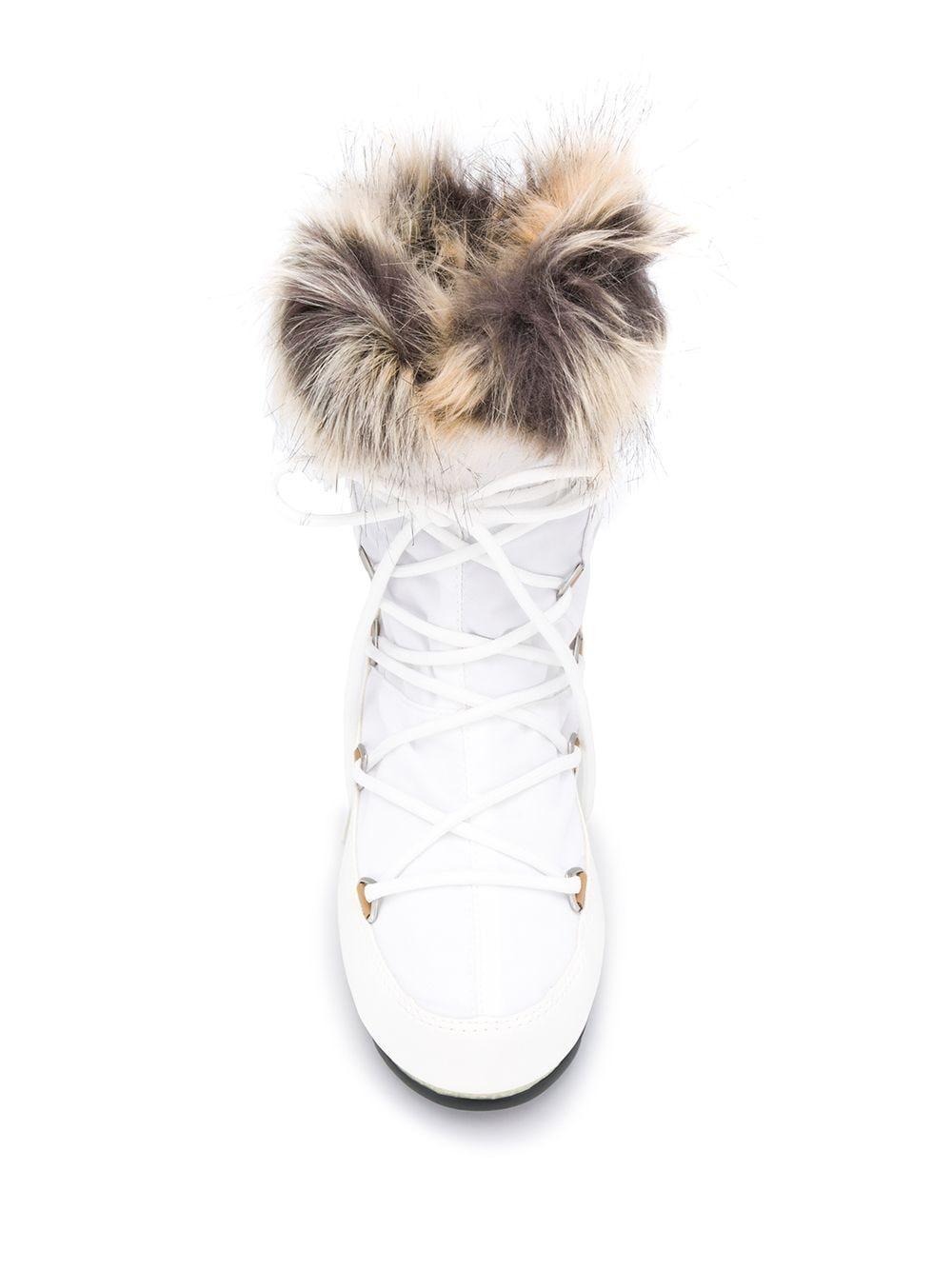 Botines de nieve Moon Boot de color Blanco