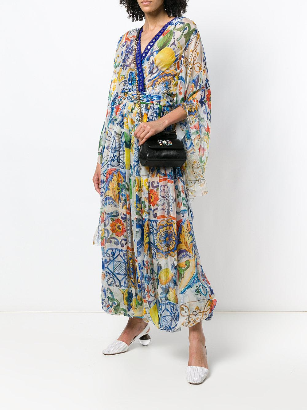 f3ee6f3acbb2 Dolce   Gabbana Mini Sicily Bag in Black - Lyst