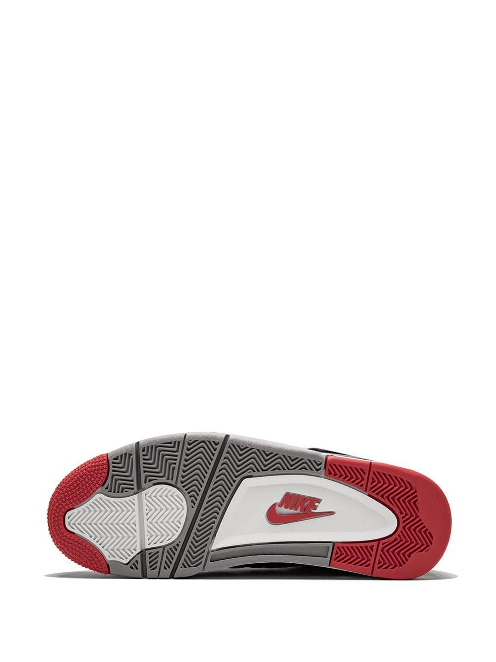 Zapatillas Air 4 Retro Nike de color Negro