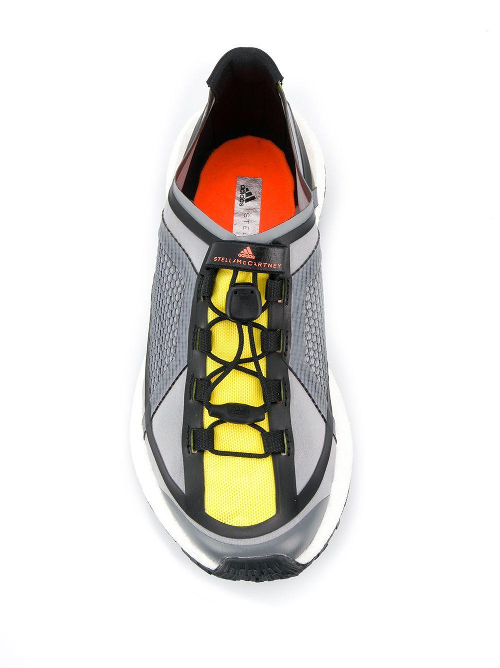 Zapatillas Pulse Boost HD adidas By Stella McCartney de Tejido sintético de color Gris