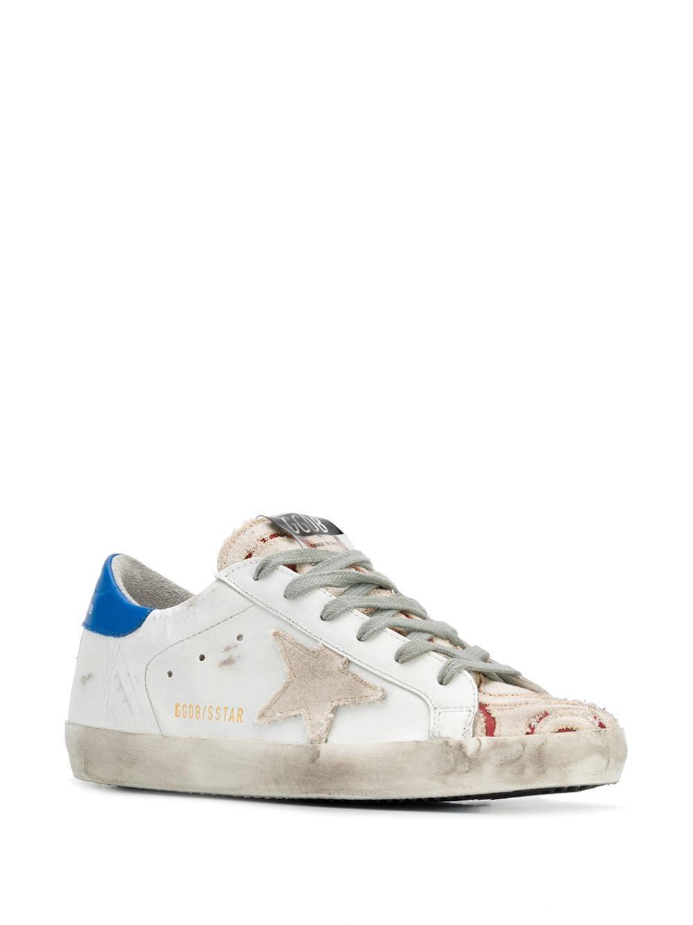 Zapatillas con panel con estrella Golden Goose Deluxe Brand de Cuero de color Blanco