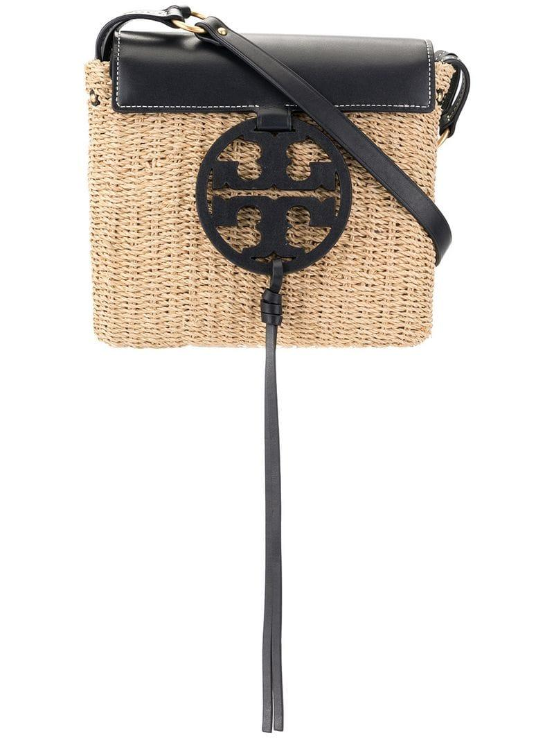 6a6a7fb7dfe7 Tory Burch. Women s Miller Straw Crossbody Bag