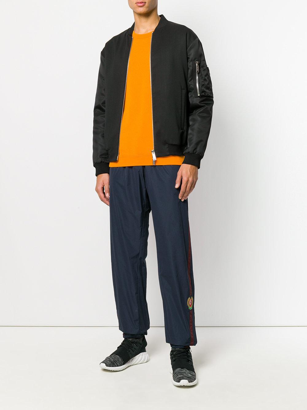 c7c58a0e3 Lyst - Yeezy Season 5 Crest Sweatpants in Blue for Men