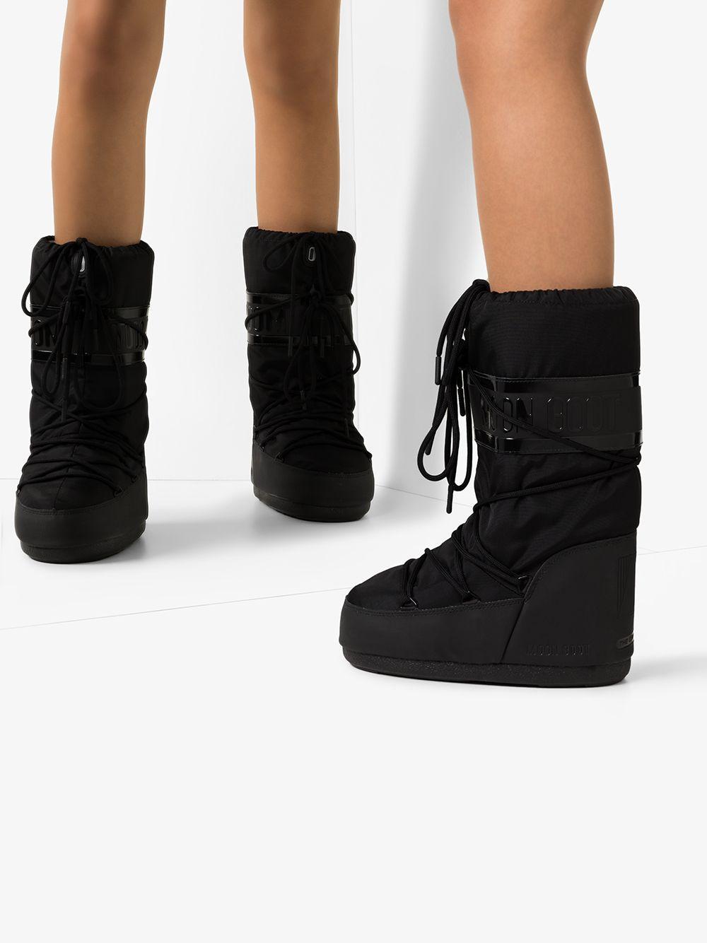 Botas Icon Moon Boot de color Negro