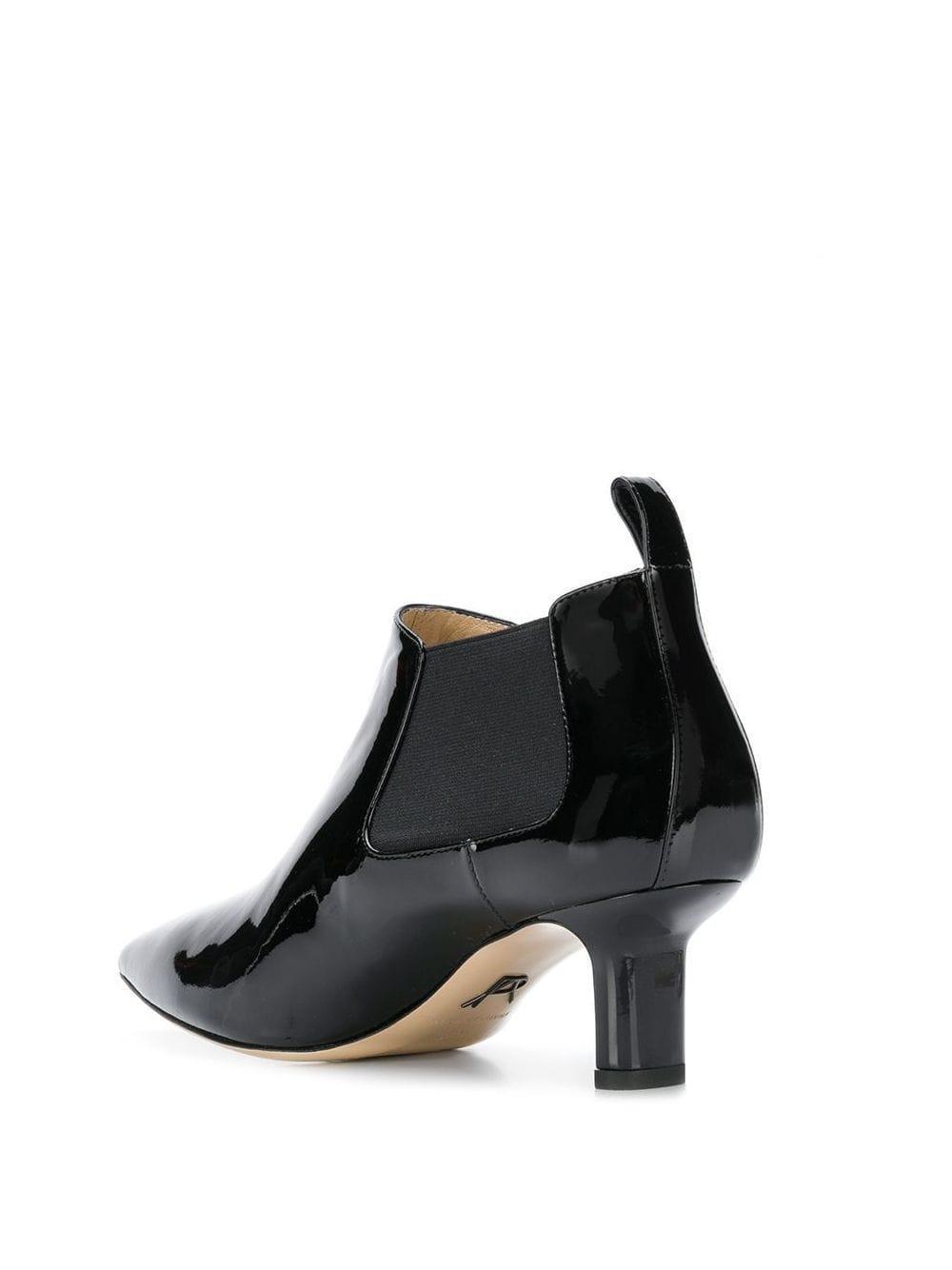 Botas con tacón stiletto con puntera en punta Paul Andrew de Cuero de color Negro