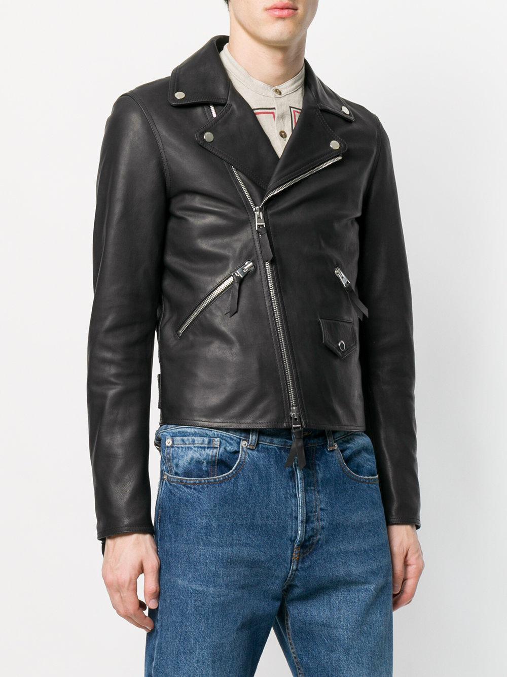 J.W.Anderson Leather Biker Jacket | Jackets, Biker jacket