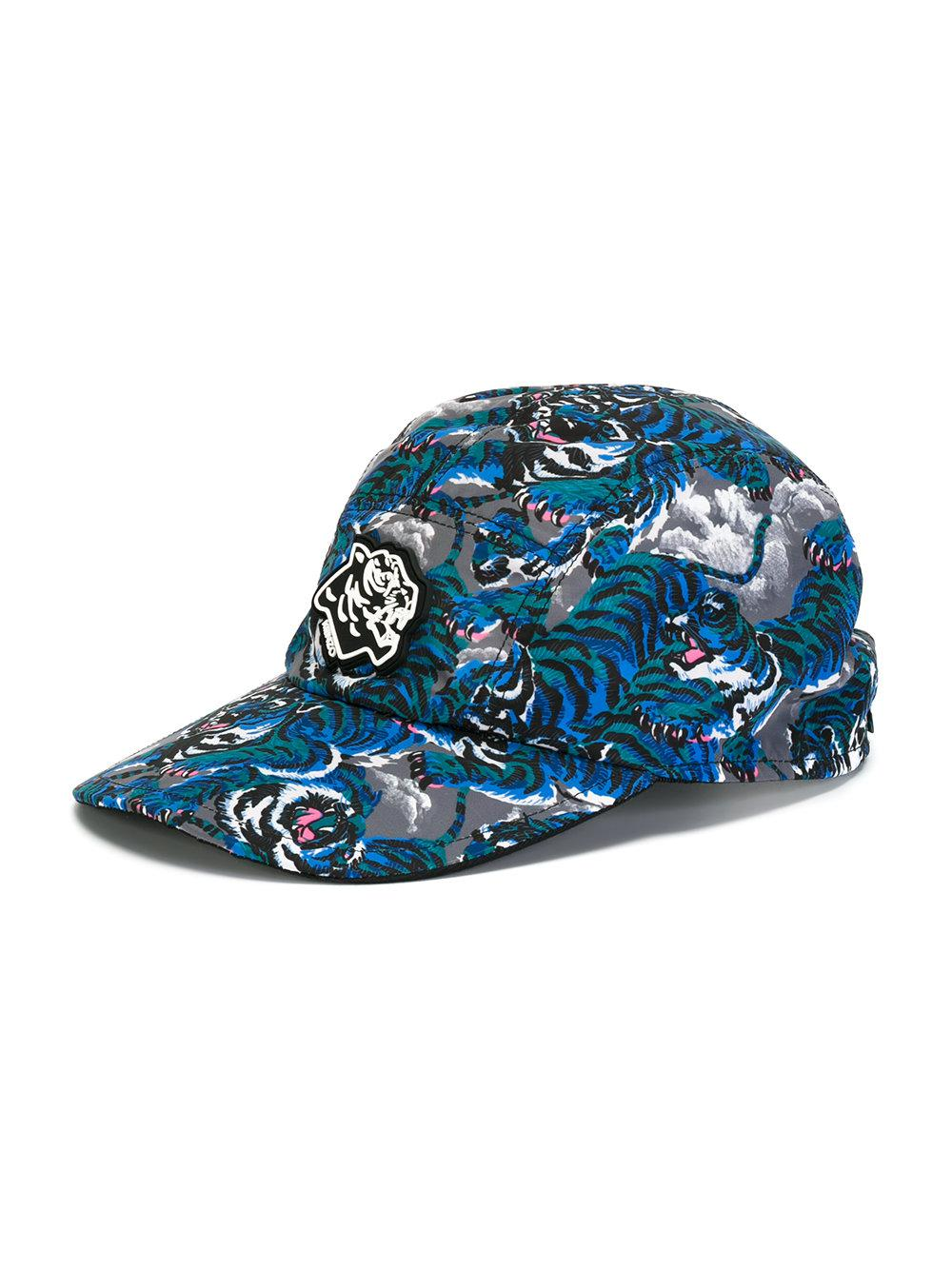 4bbb00d5 Lyst - Kenzo Flying Tiger Baseball Cap in Blue for Men