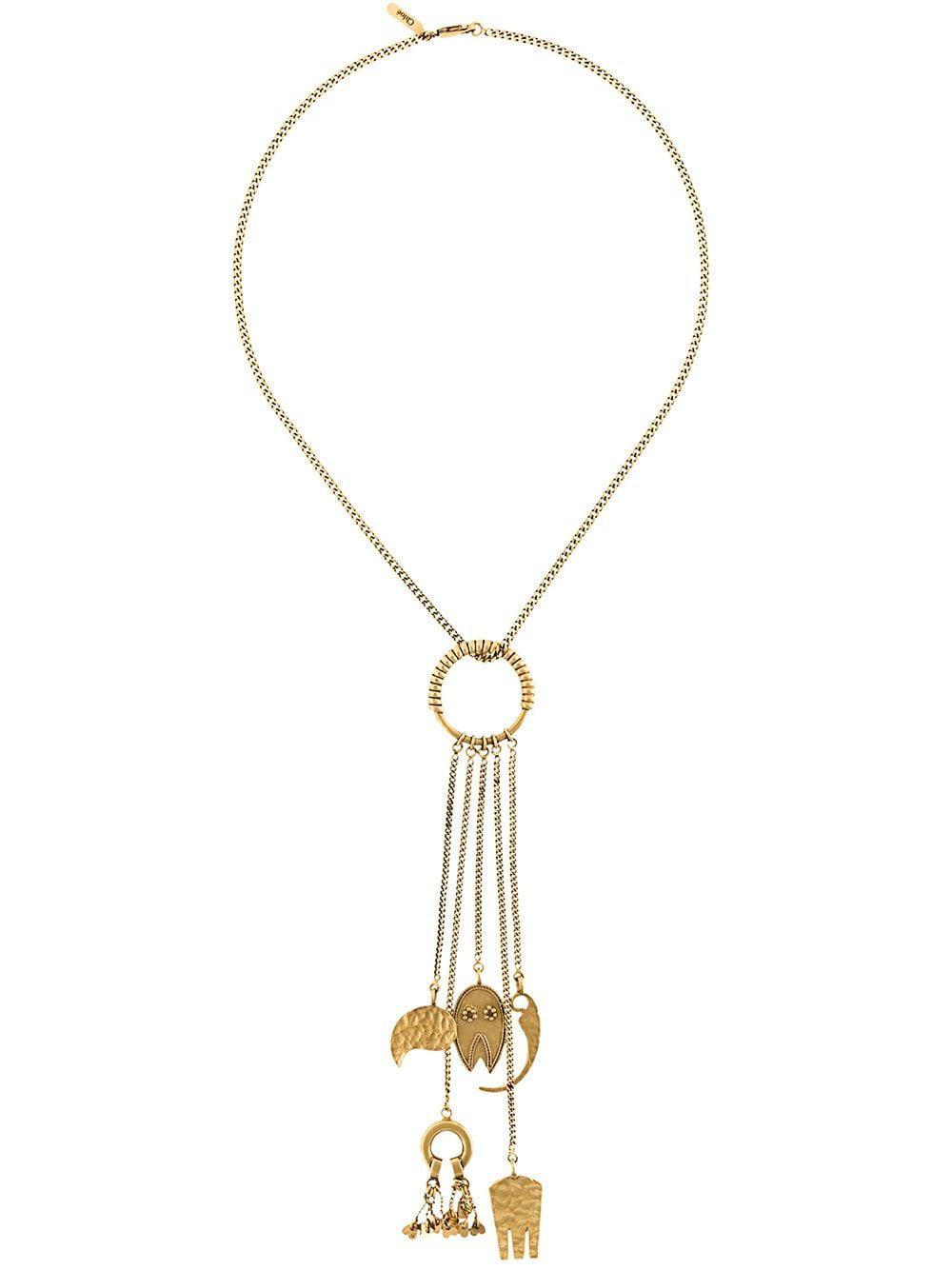 Chloé 'lyzbeth' Necklace in Metallic
