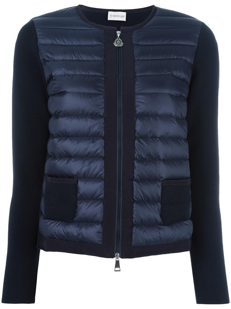Lyst Moncler Jacket Vest In Black