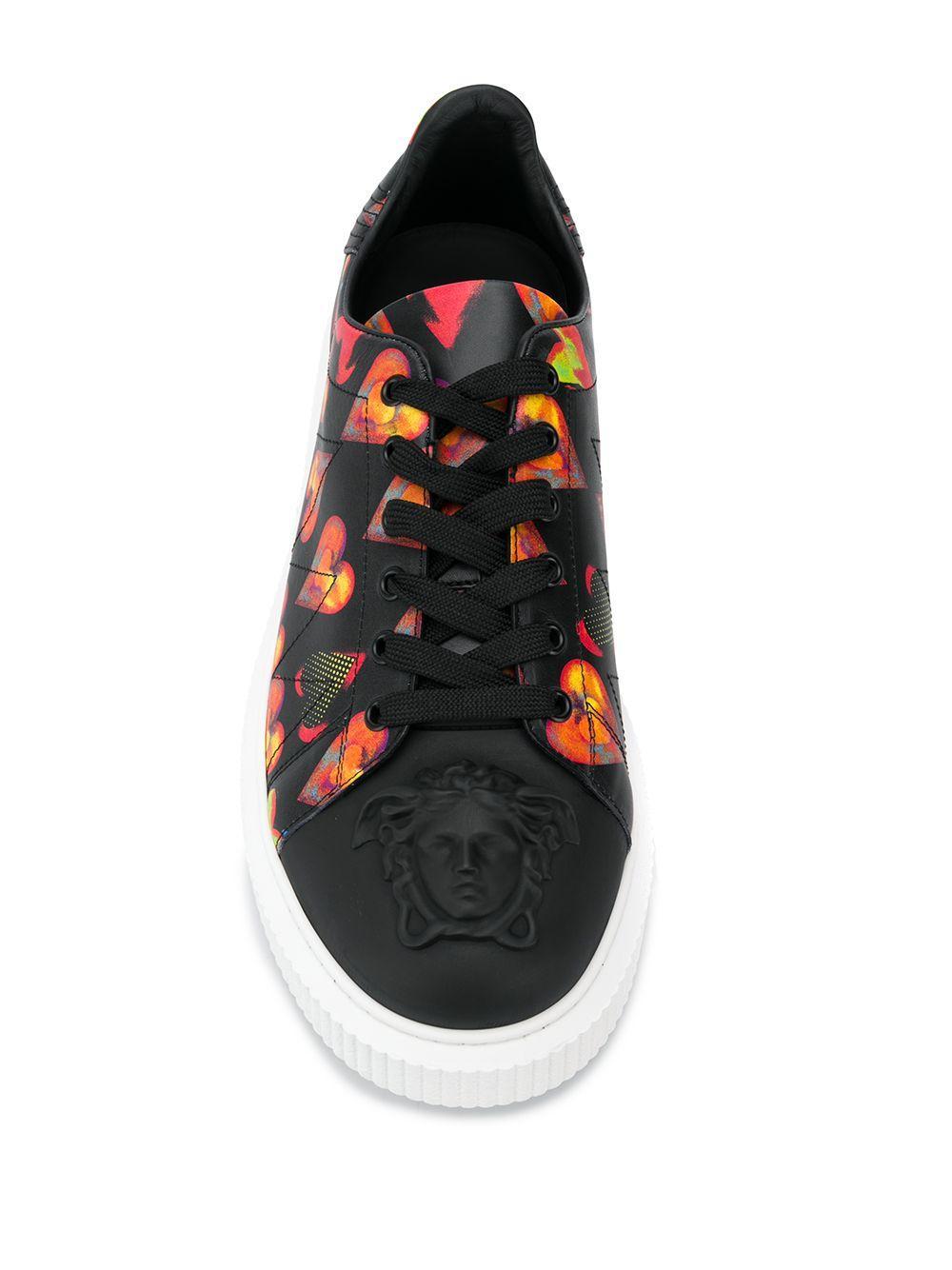 Baskets Nyx Cuir Versace pour homme en coloris Noir 29D0