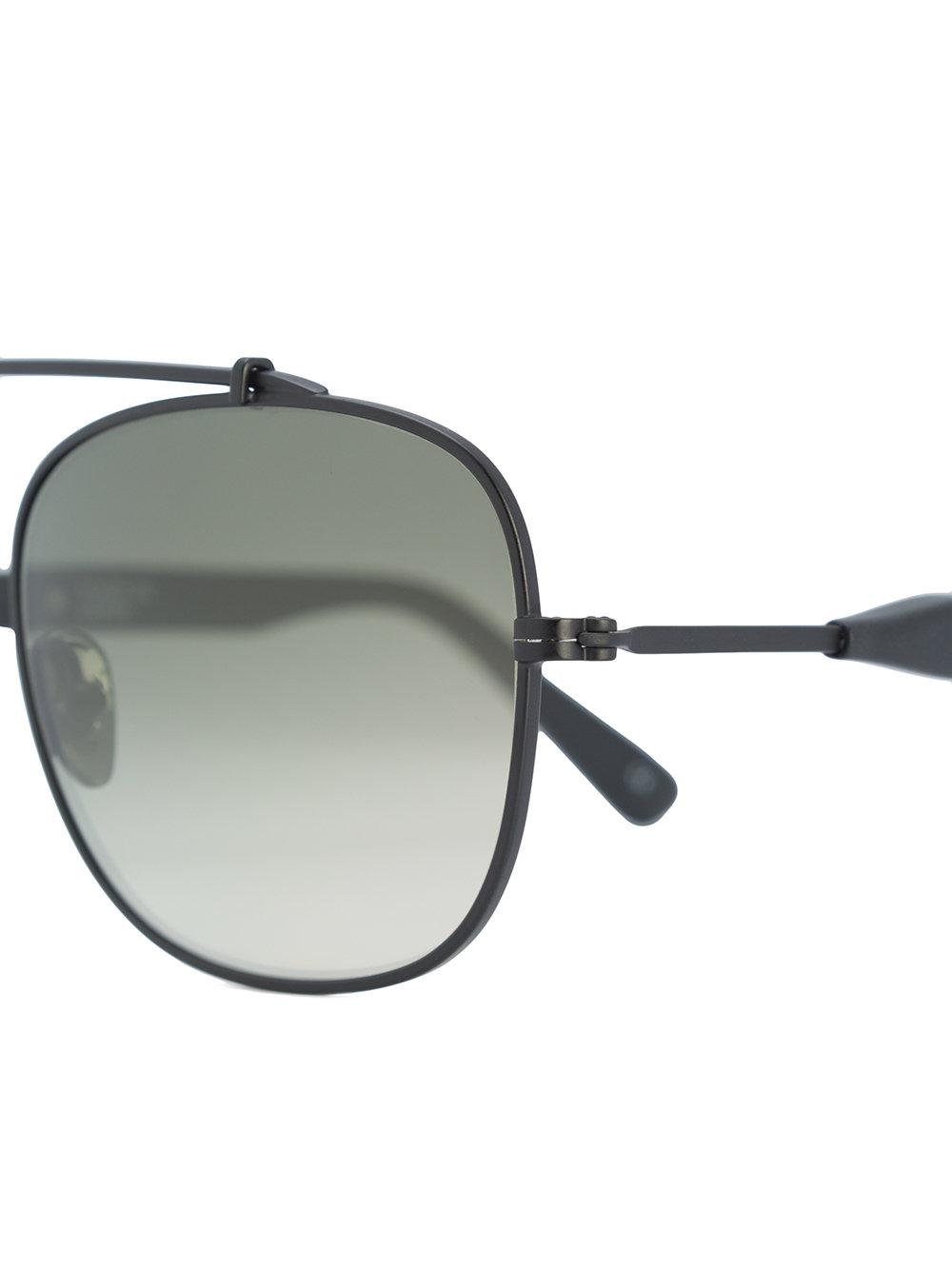 Westward Leaning Malcolm No Middle 05 Sunglasses in Black