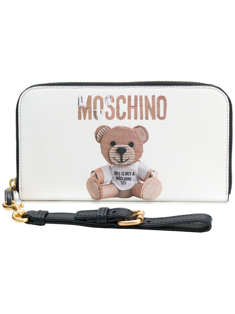 Monedero Moschino Monedero Teddy Moschino Bear Teddy Bear PBw5xRqU