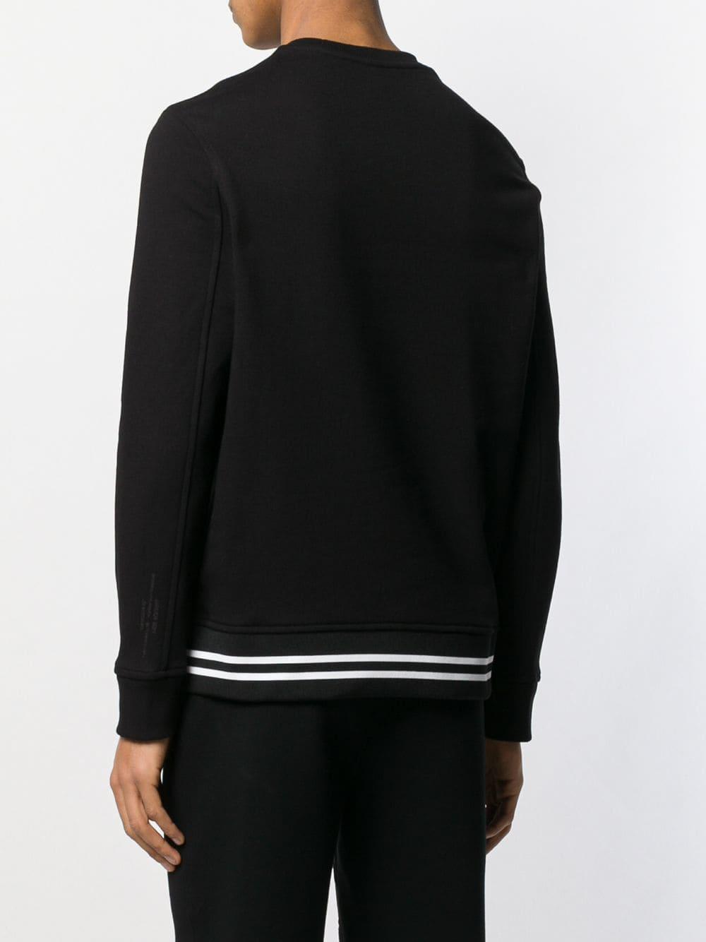 Neil Barrett 'gangsta' Sweater in het Zwart voor heren - Bespaar 5%