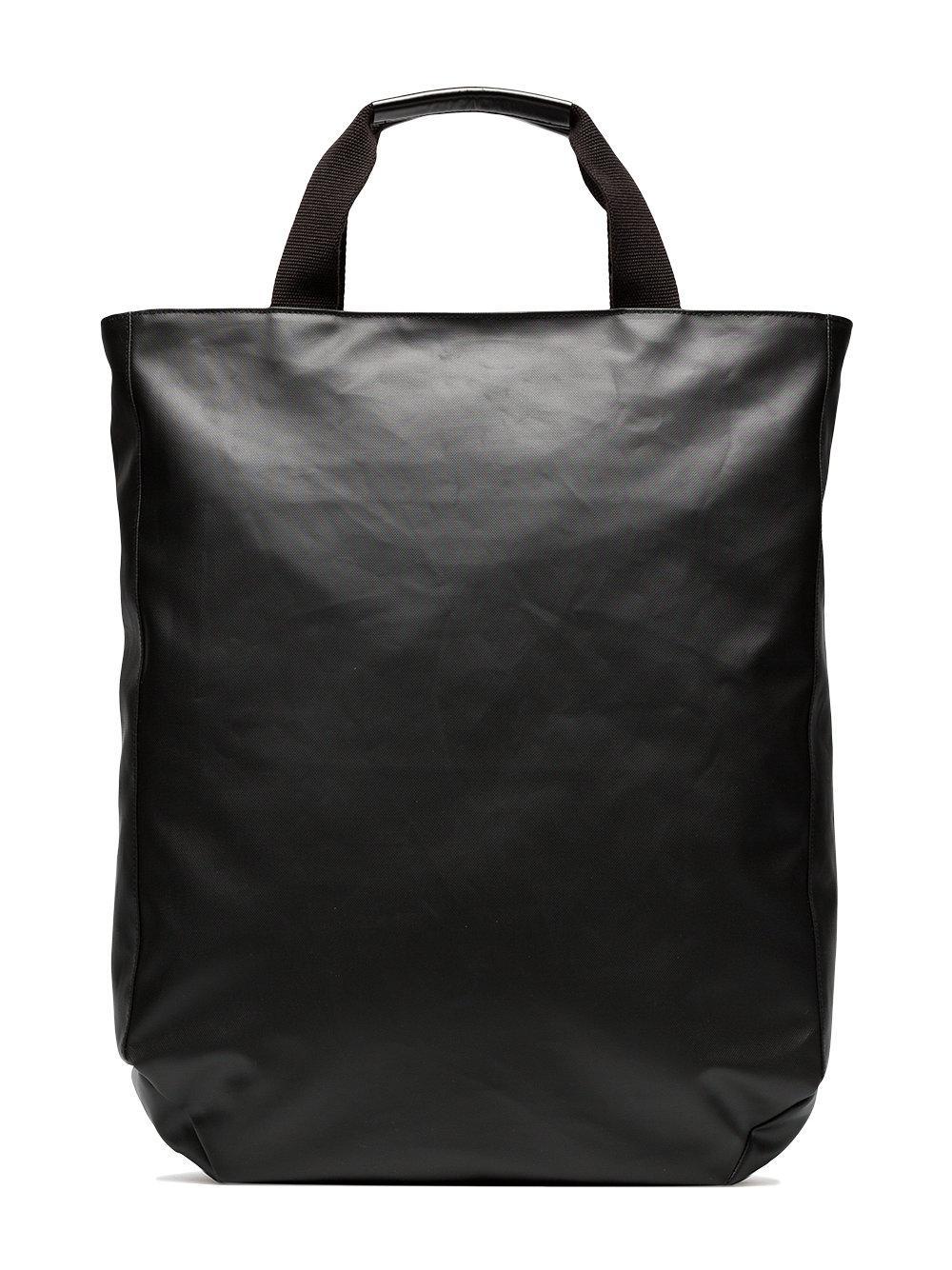Y-3 Black Logo Tote Bag for Men