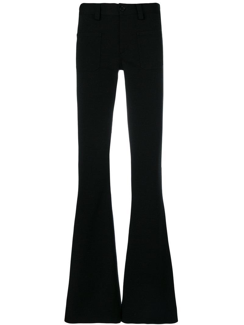 Buy Cheap Enjoy Maison Margiela high rise flared trousers Cheap Footlocker 08VGjCqj