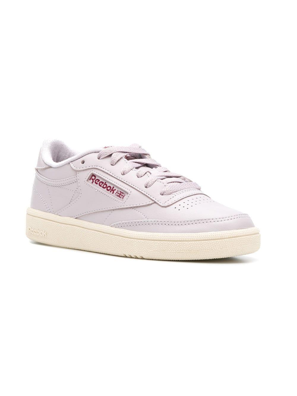 730cfa958d8 Lyst - Reebok Classic Low-top Sneakers in Pink
