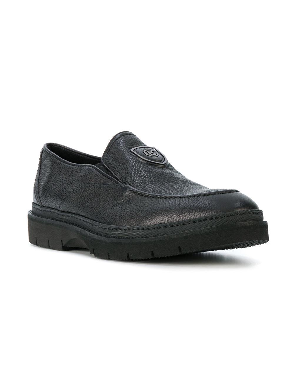BALDININITextured loafers ZcEtBiI