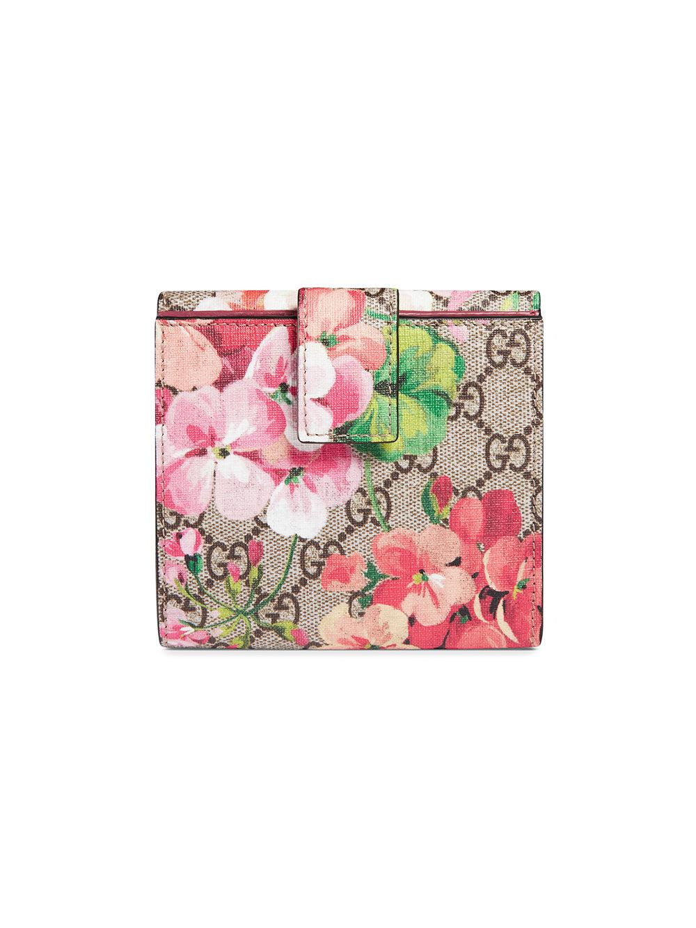 GG Blooms french flap wallet - Multicolour Gucci EPxieHT8tF