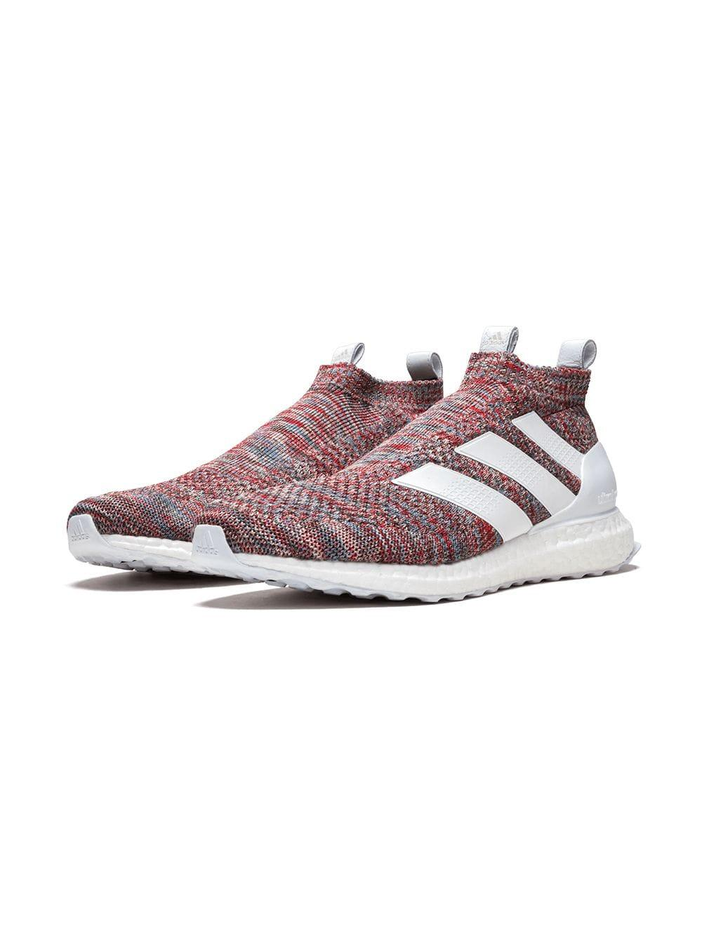 quality design 79836 43025 Lyst - adidas A16+ Ultraboost Kith in Red for Men