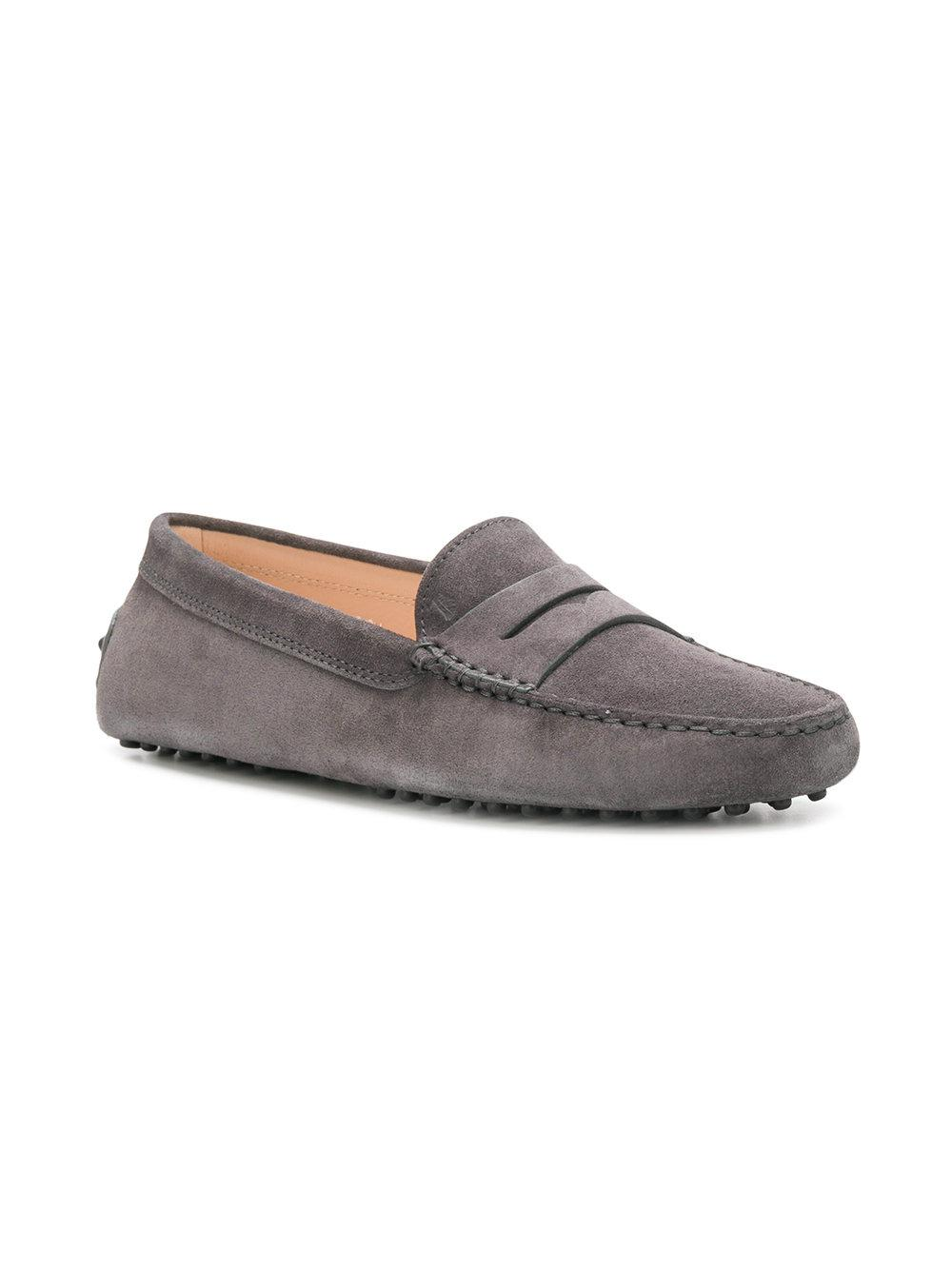 c3bcf017805 Tod S Slip-on Loafers in Gray - Lyst