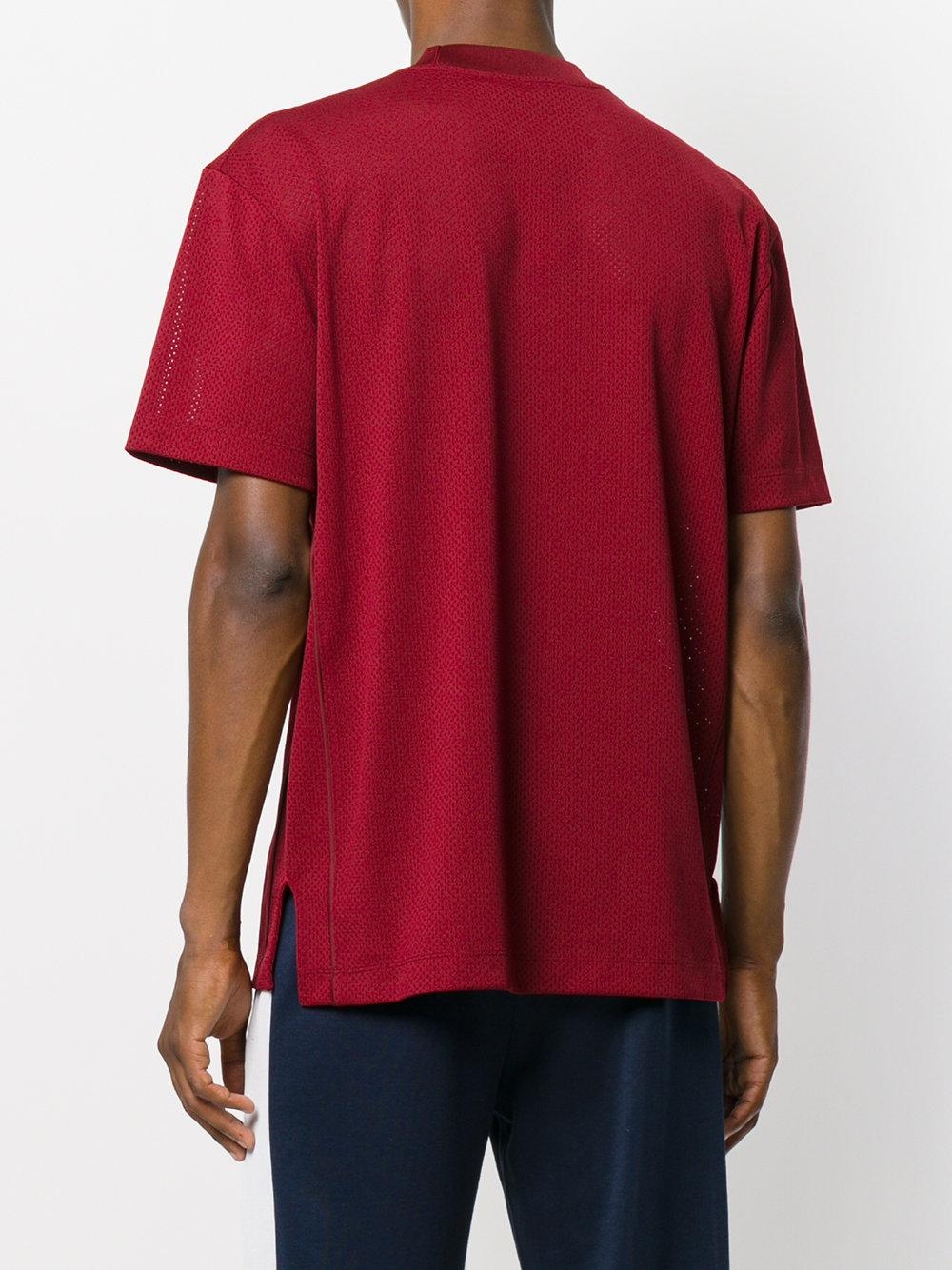 Vetements Printed Cotton T-shirt in Black - Lyst
