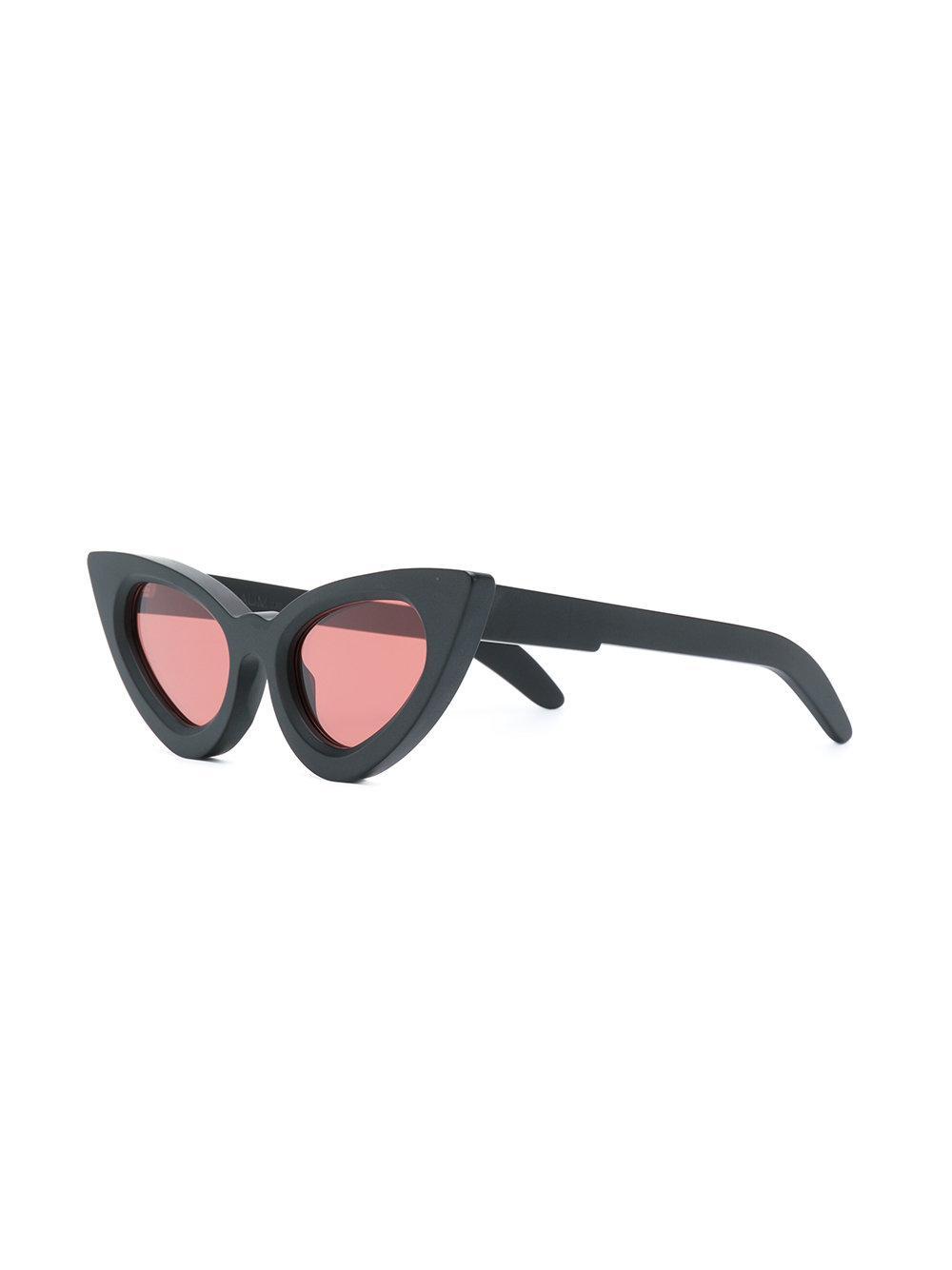 Maskey cat eye sunglasses - Black Kuboraum jxlOS5