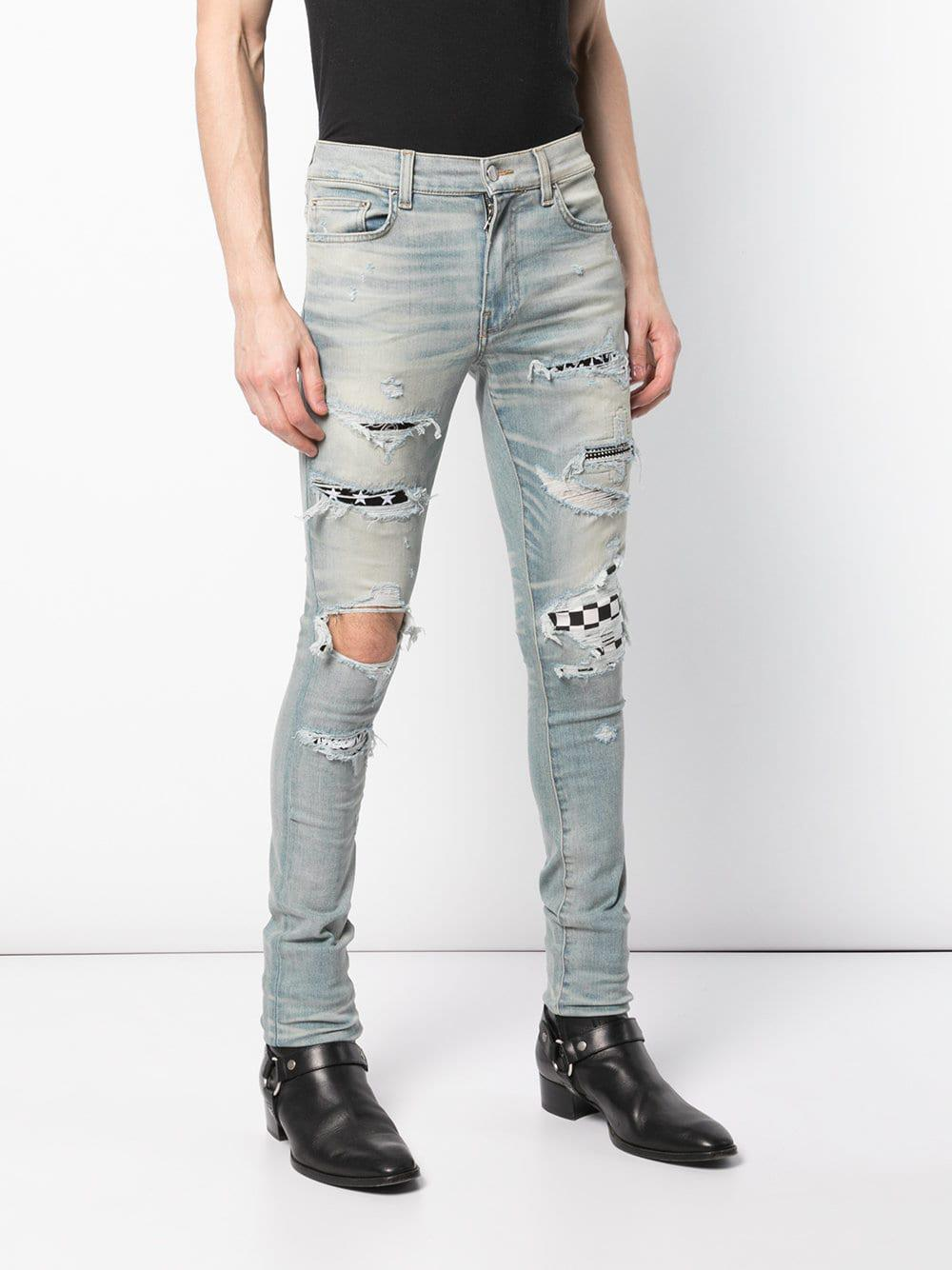 reputable site skate shoes coupon code Art Patch Skinny Jeans