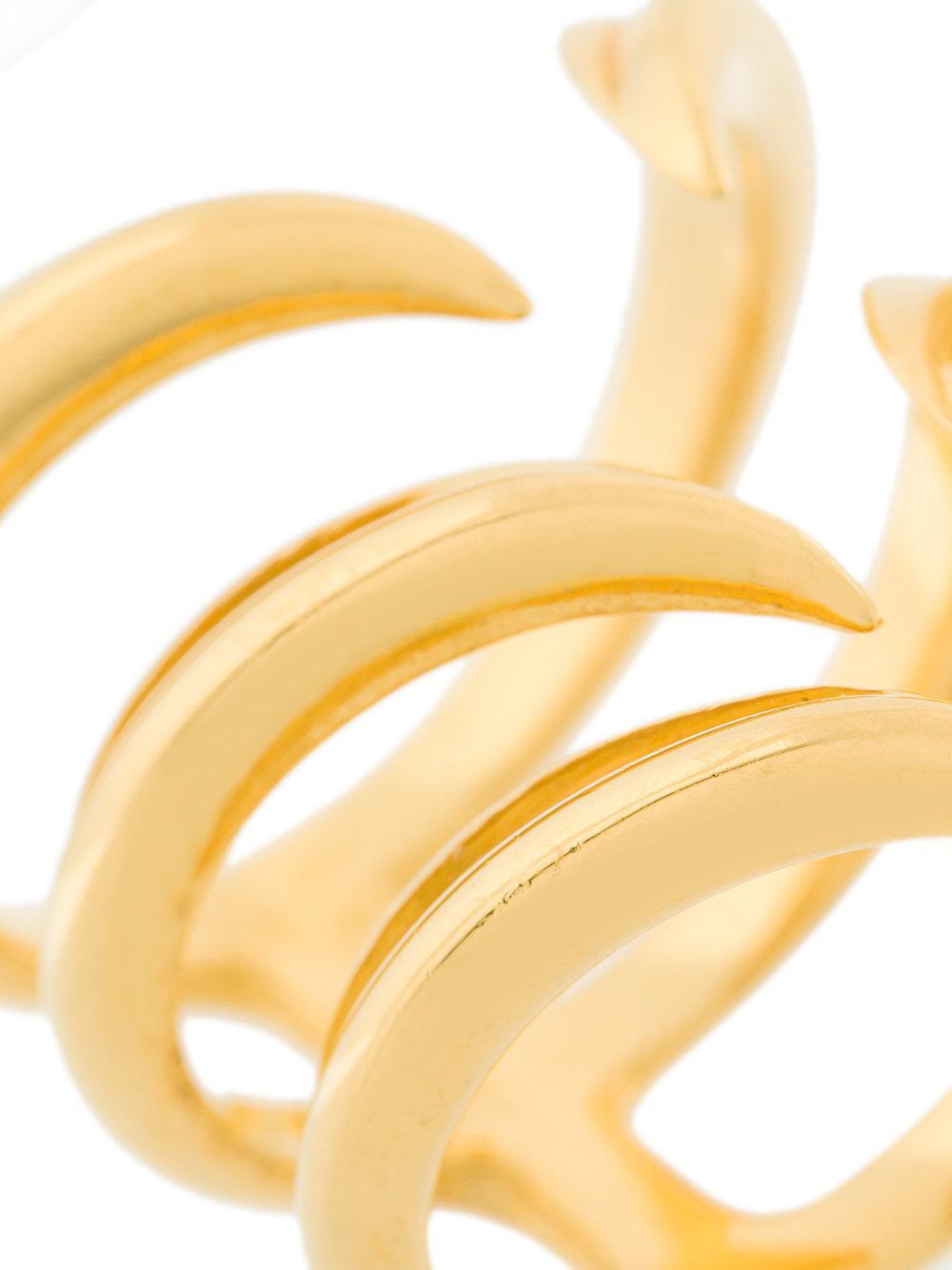 Niomo Calumus Ring in Metallic