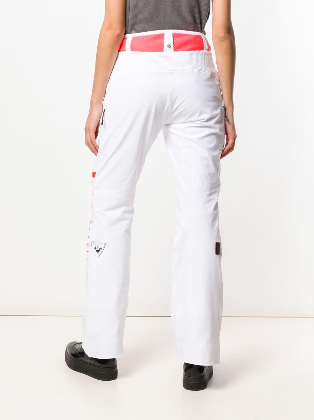 Pantalones Atelier Course de esquí Rossignol de Tejido sintético de color Blanco