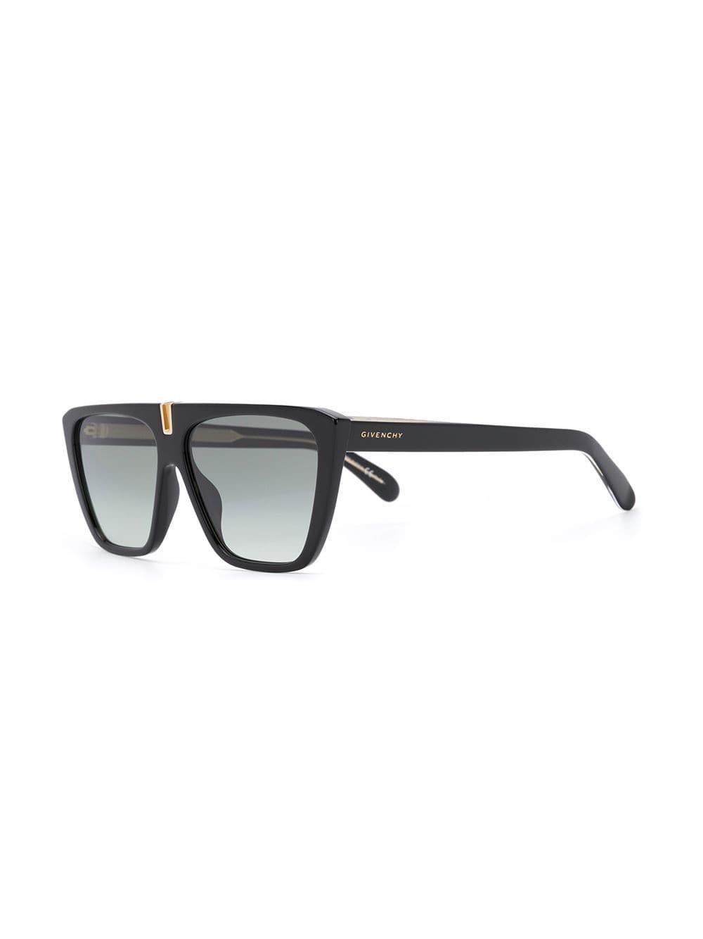 00ce2519d5 Givenchy - Black Gafas de sol cuadradas con lentes de color - Lyst. Ver en  pantalla completa