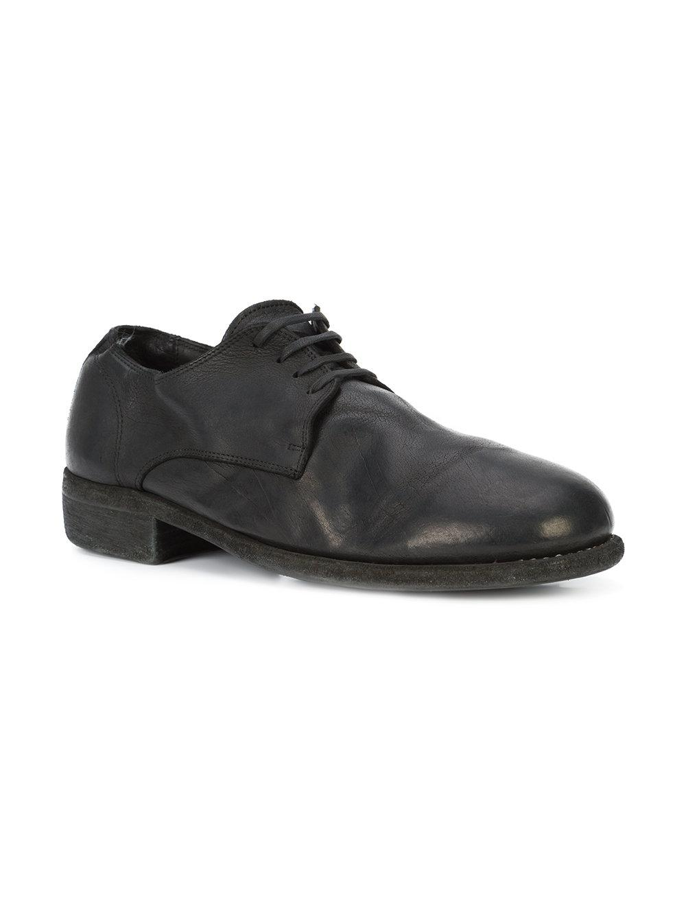 sneakers for cheap aae9b 15278 guidi-Black-Lace-up-Derby-Shoes.jpeg