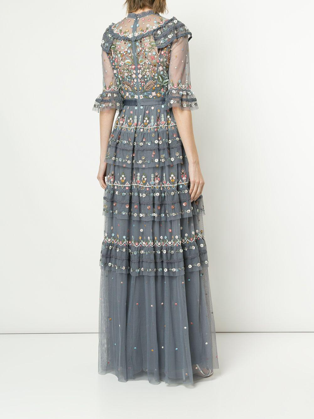 Needle & Thread Synthetic Paradise Gown in Blue